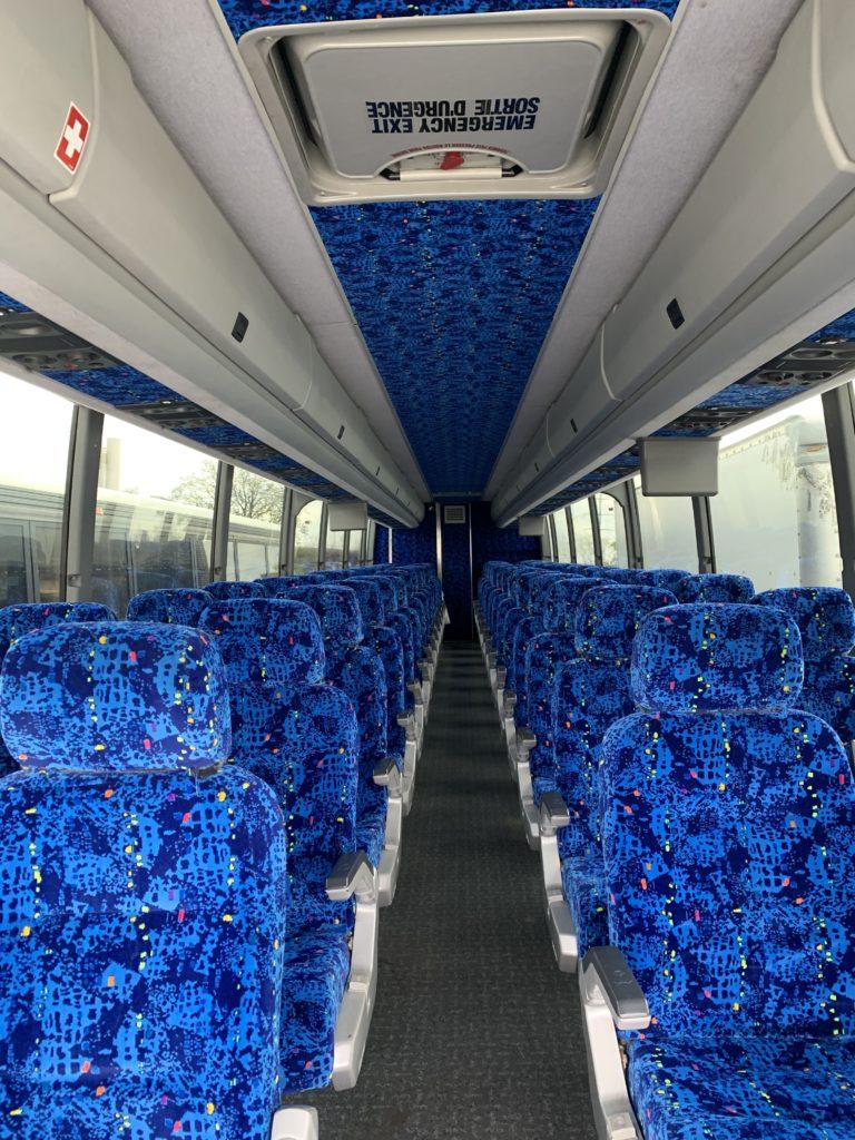 Bus Prevost 2007 Seat